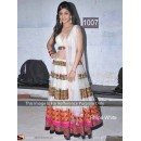 Bollywood Replica - Shilpa Shetty White Floor Length Anarkali At Nach Baliye - OM-1007