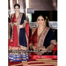 Bollywood Replica - Sridevi In Maroon Anarkali At The Marrakech International Film Festival - OM-1018