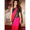 Bollywood Replica - Samantha In Designer Pink And Orange Shaded Saree (RDBS1289)