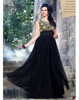 Beautiful Anarkali Style Soft Rasal Net Gown - 10002 Karishma (SD-10001)