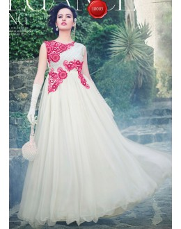 Beautiful Anarkali Style Soft Rasal Net Gown - 10005 Karishma (SD-10001)
