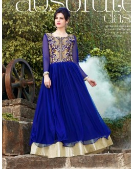 Beautiful Anarkali Style Soft Rasal Net Gown - 10006 Karishma (SD-10001)
