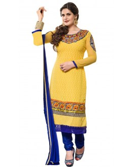 Fancy Designer Party Wear Straight Suit - ZN2103 (ST-ZAREEN)