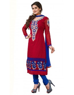 Fancy Designer Party Wear Straight Suit - ZN2104 (ST-ZAREEN)