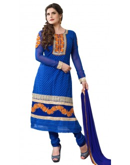 Fancy Designer Party Wear Straight Suit - ZN2108 (ST-ZAREEN)