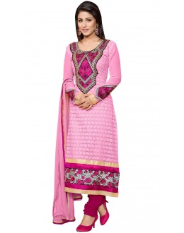 Fancy Designer Party Wear Un-Stitched Straight Suit - AS8012 (ST-AKSHARA STAR)