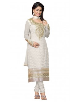 Fancy Designer Party Wear Un-Stitched Straight Suit - AS8014 (ST-AKSHARA STAR)