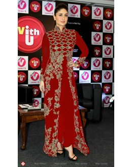 Bollywood Replica - Kareena Kapoor in Anamika Khanna Red and Gold Outfit -1002(SIA)