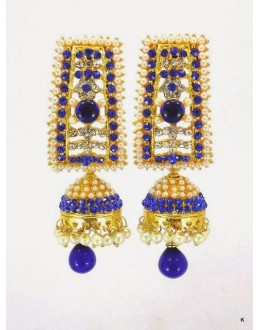 Colorful Stone Jhumka - 75011 (SD-28)