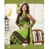 Ayesha Takia Designer Green Embroidered Party Wear Long Straight Cut Suit-4101( SD-Fashions )