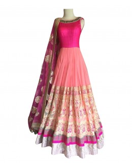 Bollywood Replica - Light Pink  Lehnega Choli - 3352503