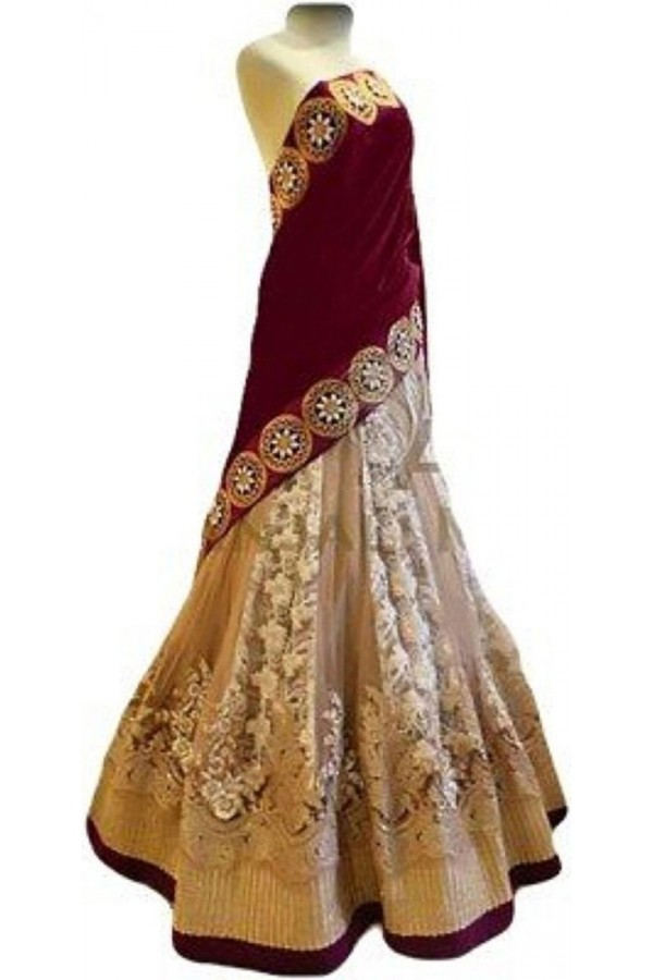 Bollywood Replica Purple  Lehnega Choli - 3352506