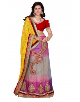 Designer Adorable Party Wear MultiColor Saree-NB7902A ( ST-266 )