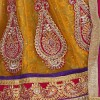 Designer Adorable Party Wear Purple With Yellow Color Saree-NB7910A ( ST-266 )