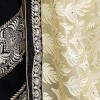 Heavy Designer Embroidered Dazzling Beige With Black Color Party Wear Saree-CB9523 ( ST-266 )