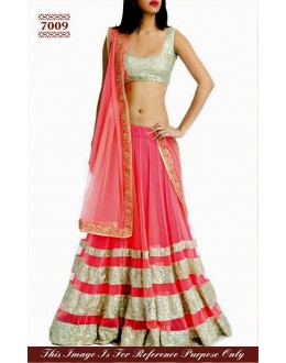 Bollywood Replica - Pink Lehenga Choli - 7009 (SAM-205)