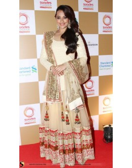 Bollywood Replica - Sonakshi Sinha Gold Lehenga - GC-8110 (IB-645)