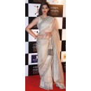 Bollywood Replica - Sonam Kapoor In Brown Saree At The LOreal Paris Femina Women Awards 2014 - 298 (SAM-182)