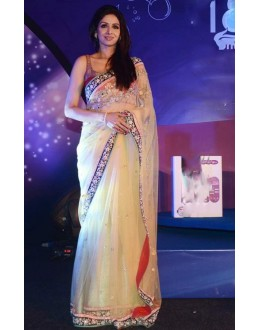 Bollywood Replica - Sridevi Style Cream Color Designer Saree - 217 (CM-Vol-4)
