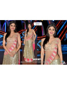 Bollywood Replica - Shilpa Shetty in Heavy Sequined Lehenga in Nach Baliye Show - 5018 (IB-25)