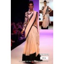 Bollywood Replica - Sonam Kapoor Bollywood Designer Peach And Black Saree - 222 (CM-Vol-4)