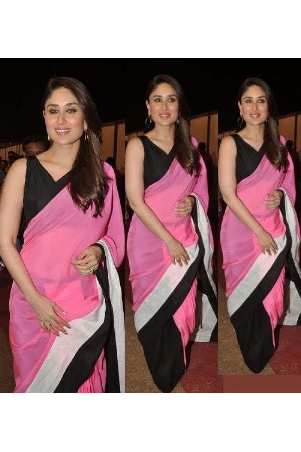 Bollywood Replica - Kareena Kapoor in Half and Half Saree - 9111 (IB-372)