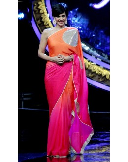 Bollywood Replica - Mandira Bedi Designer Cotton Silk Party Wear Saree - 9112 (IB-372)