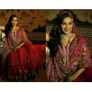 Bollywood Replica - Madhuri Dixit Maharani Red Bridal Lehenga 1101