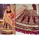 Bollywood Replica - Shilpa Shetty In Maroon Lehenga 1121