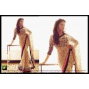 PARTY WEAR LATEST BOLLYWOOD REPLICA SAREE -  TM-43