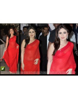 PARTY WEAR LATEST BOLLYWOOD REPLICA SAREE -  TM-6