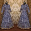 Bollywood Style - Heavy Embroidered Navy Blue Anarkali Suit - S618