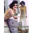Bollywood Replica-Prachi Desai Designer White & Yellow Fancy Worked Lehenga Choli-478( SIA-400 )