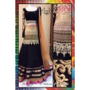 Bollywood Replica-Designer Heavy Embroidered Black Net Lehenga Choli-7172 ( SIA -S-7000 )
