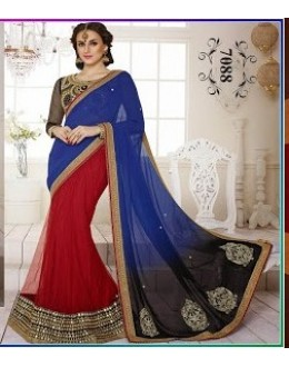 Bollywood Replica-Designer Multi Color  Sraee-7088 ( SIA -S-7000 )