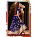 Bollywood Replica-Designer Royal Blue & Pink Velvet Heavy Embroidered Lehenga Choli-7108 ( SIA -S-7000 )