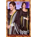 Bollywood Replica-Sophie Chaudhury Designer Black Pure Georgette Anarklai Suit-7023 ( SIA -S-7000 )