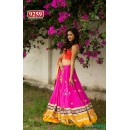 Bollywood Replica-Designer Embroidered Multi-Colour Georgette Desi Style Lehenga Choli-9259( SIA-9200)