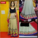 Bollywood Replica-Designer Pista & Pink Embroidered Georgette Traditional Lehenga Choli-9204( SIA -S-9200 )