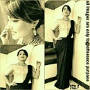 Bollywood Replica - Heena Khan In Designer Black Lycra Saree - 9721-F
