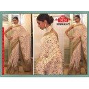 Bollywood Replica - Deepika Padukone In Designer Off-White Saree - 9820