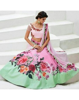 Bollywood Replica - Wedding Wear Pink Lehenga Choli - JL01