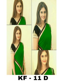 Bollywood Replica - Party Wear Green Georgette Saree - KF-11 D