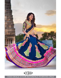 Bollywood Replica - Wedding Wear Blue Georgette Lehenga Choli - KT-2047