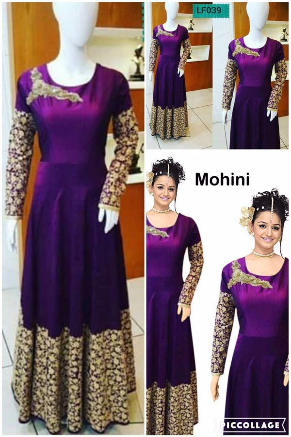 Bollywood Replica - Wedding Wear Blue Anarkali Suit  - LF039