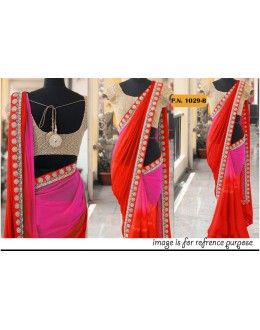 Bollywood Replica - Wedding Wear Multi-Colour Georgette Saree - PN-1029-B