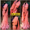 Bollywood Style - Party Wear Peach Georgette Saree - PN-1030-C
