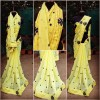 Bollywood Style - Party Wear Yellow Georgette Saree - PN-1030-B