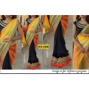 Bollywood Replica - Designer shading Net & Georgette Saree - PN-1028