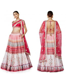 Bollywood Replica -  Wedding Wear Berry Pink Lehenga  - S1006-Pink